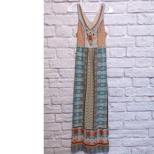 Size Small Maxi Dress w/ Embroidered Details
